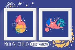MOON CHILD illustrations & patterns Product Image 3