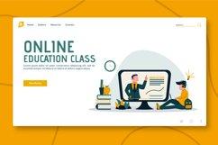 Online Education Flyer & Instagram vol.02 Product Image 2