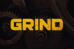 Grind Typeface Product Image 1