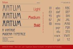 Artum - Serif font family Product Image 3