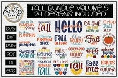 An Exceptionally Huge Fall Bundle | 6 Bundles In 1| 76 SVGs Product Image 2