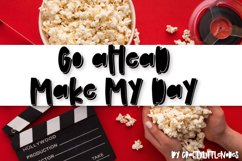Binge Watch - A Shadow Font Trio Product Image 4
