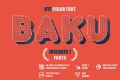 Baku - SVG color font Product Image 1