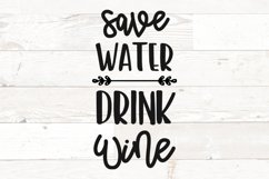 Wine Glass Sayings SVG Bundle Wine Quotes Product Image 11
