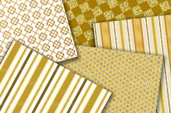 Gold Digital Paper Pack Product Image 3