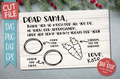 Santa Cookie Tray BUNDLE - SVG, PNG, DXF, EPS Product Image 3