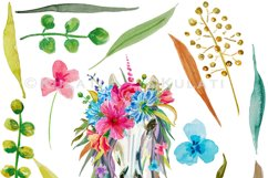 Floral Unicorn Graphics / Clipart / Illustrations Product Image 2