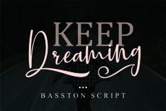 Basston Script Product Image 2