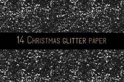 Christmas glitter digital paper Product Image 2