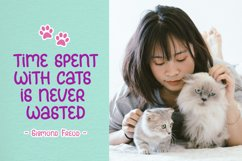 Meowcats - A Quirky Font Special For Cats Lover Product Image 3