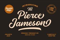 Pierce Jameson - Font Family Product Image 1