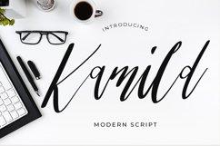 Kamild Calligraphy Font Product Image 1