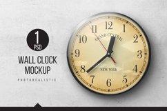 Wall Clock Mockups Product Image 1