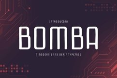 Web Font Bomba Product Image 1