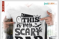 This is My Scary Dad Costume SVG Cut File Product Image 3