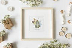 Hello Autumn. Watercolor arrangments and cards Product Image 5