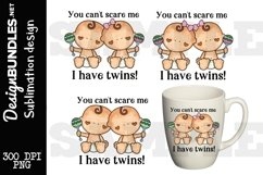 Twins Sublimation Design Product Image 1