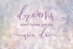 Dream Bounce Calligraphy Font Product Image 3