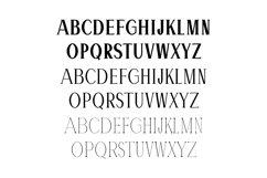 Hommer Minimal Serif Typeface Product Image 2