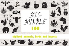 Logo animals, birds and insects. Product Image 1