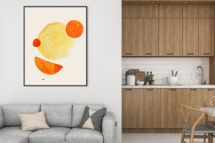 Geometric print art, Boho geometric shapes, Minimalist print Product Image 2