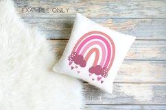 Pink Rainbows clip art Product Image 3