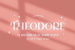 Theodore Serif Font Product Image 1
