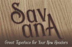 Savana - Display Font Product Image 3