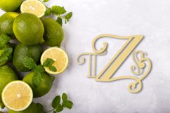 Intially - A Hand Lettered Monogram Font Product Image 4