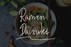 Hiroshima -  a  stylish  handwritten font Product Image 5