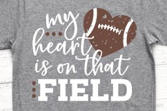 My Heart is on that Field SVG, DXF, PNG, EPS Product Image 1