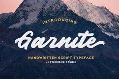 Garnite - Handwritten Script Product Image 1
