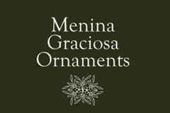 Menina Graciosa Ornaments Product Image 1