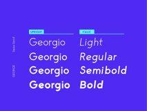 George Sans - 8 Fonts Geometric Typeface Product Image 6