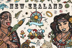 New Zealand old school tattoo Product Image 1