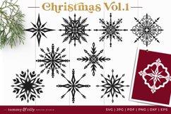 Vol.1 Christmas Bundle SVG Bundle Cut Files Product Image 5