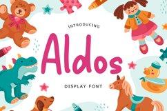 Aldos Display Font Product Image 1