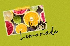 Kuy Lemonade Font Script Product Image 1
