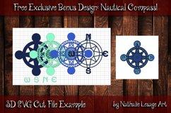 3D Mandalas Beach Friends Bundle SVG and Sublimation Files Product Image 3
