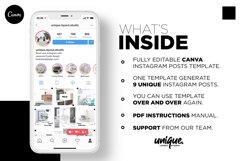 Interior Designer Instagram Posts Template | CANVA Product Image 3