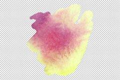Nautilus-leaf begonia Watercolor png Product Image 6