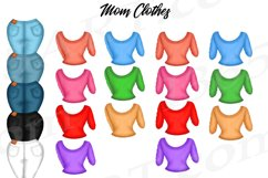 Best Friends Mother's Day Clipart Mom and Child Baby PNG Product Image 4