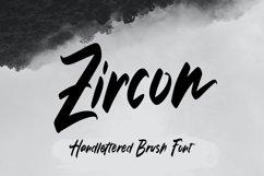 Zircon - Handlettered Brush Font Product Image 1