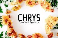 Chrys Sans Serif Typeface Product Image 1