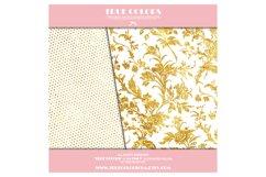 Gold Foil Digital Paper Gold Foil Digital Pack Gold Foil Product Image 5