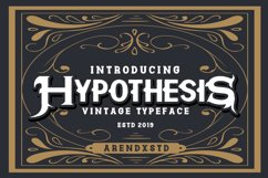 Hypothesis Typeface Product Image 1