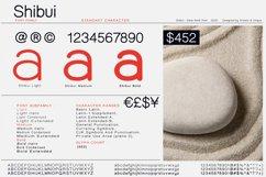 Shibui - Sans Serif font Family Product Image 2