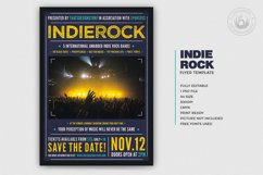 Indie Rock Flyer Template V1 Product Image 2