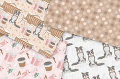 Pink Winter Digital Papers Product Image 5