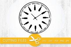 beer o'clock svg cutting file, svg, dxf, pdf, eps Product Image 1